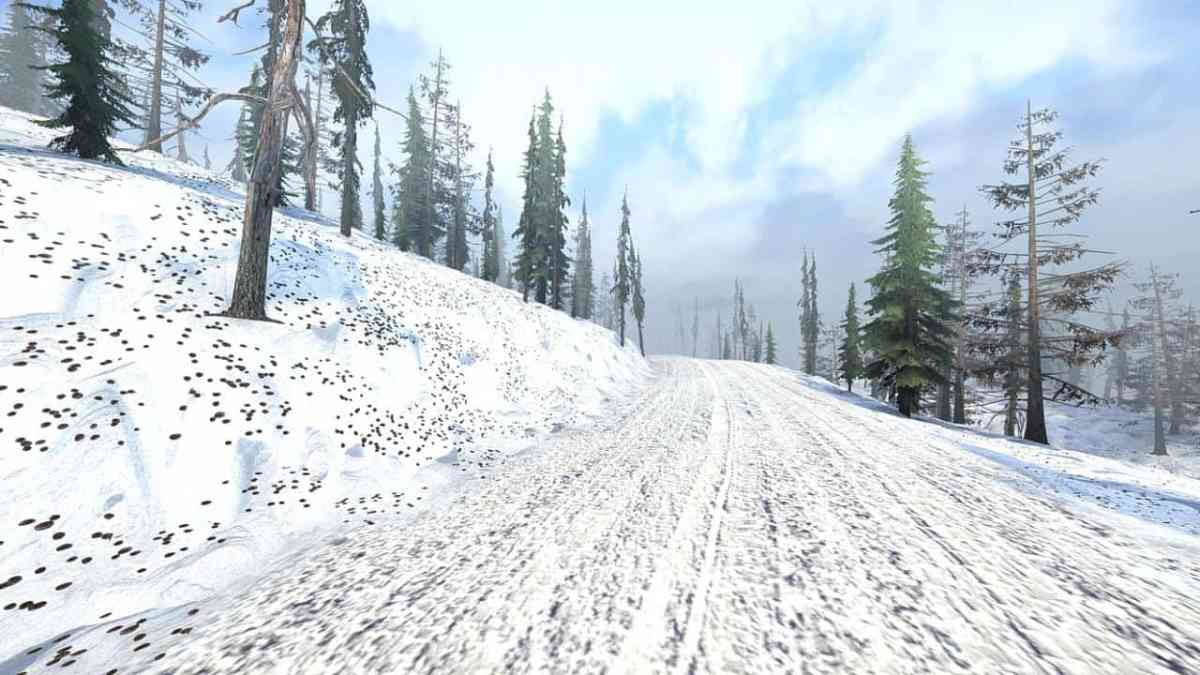 Frog's Winter Test map Mod Map